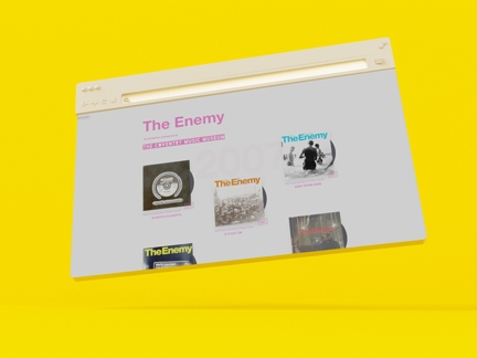 THE ENEMY DISCOGRAPHY
